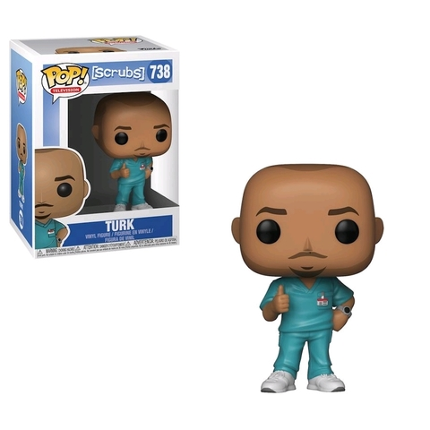 Turk Scrubs Funko Pop! Vinyl Figure || Терк Клиника