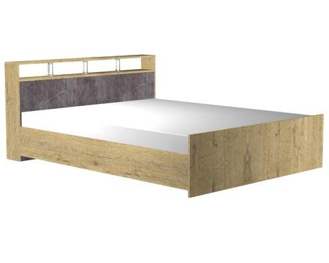 Кровать НАПОЛИ  2000-1600 /2208*862*1668/