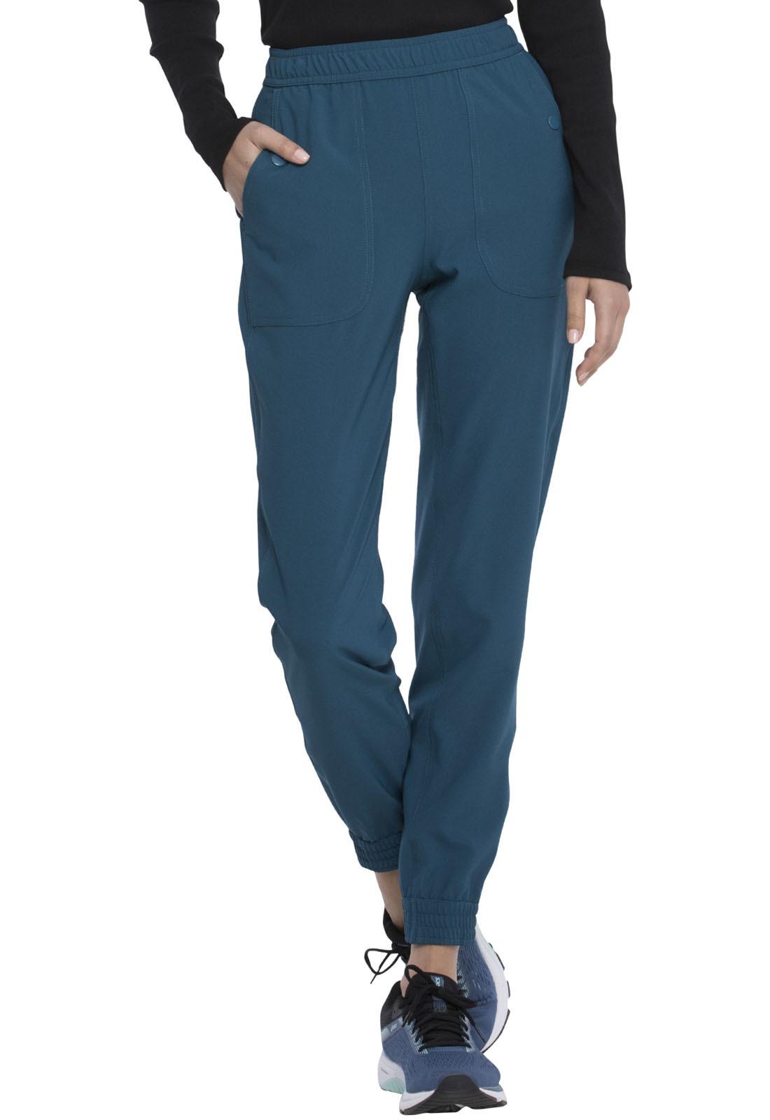 Медицинские брюки сине-зеленого цвета Dickies