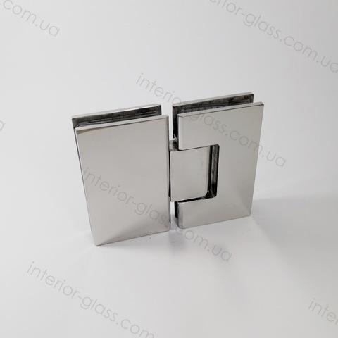 Петля для душевой 180 град. HDL-303 BF PSS полированная нержавеющая сталь