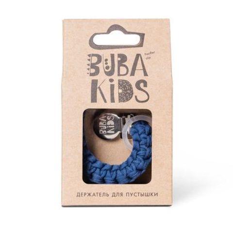 Прищепка-держатель для соски текстильный BUBA Kids Индиго