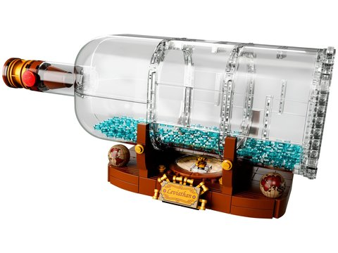 LEGO Ideas: Корабль в бутылке 21313 — Ship in a Bottle — Лего Идеи