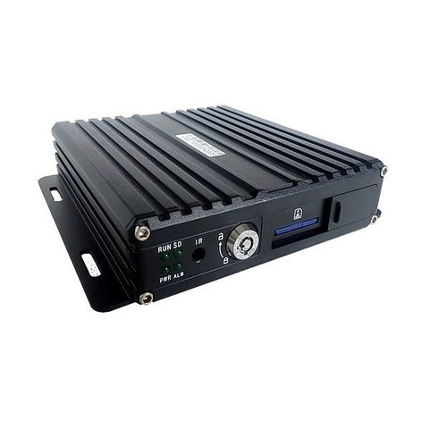 4-х канальный AHD видеорегистратор для транспорта NSCAR401HD_SD