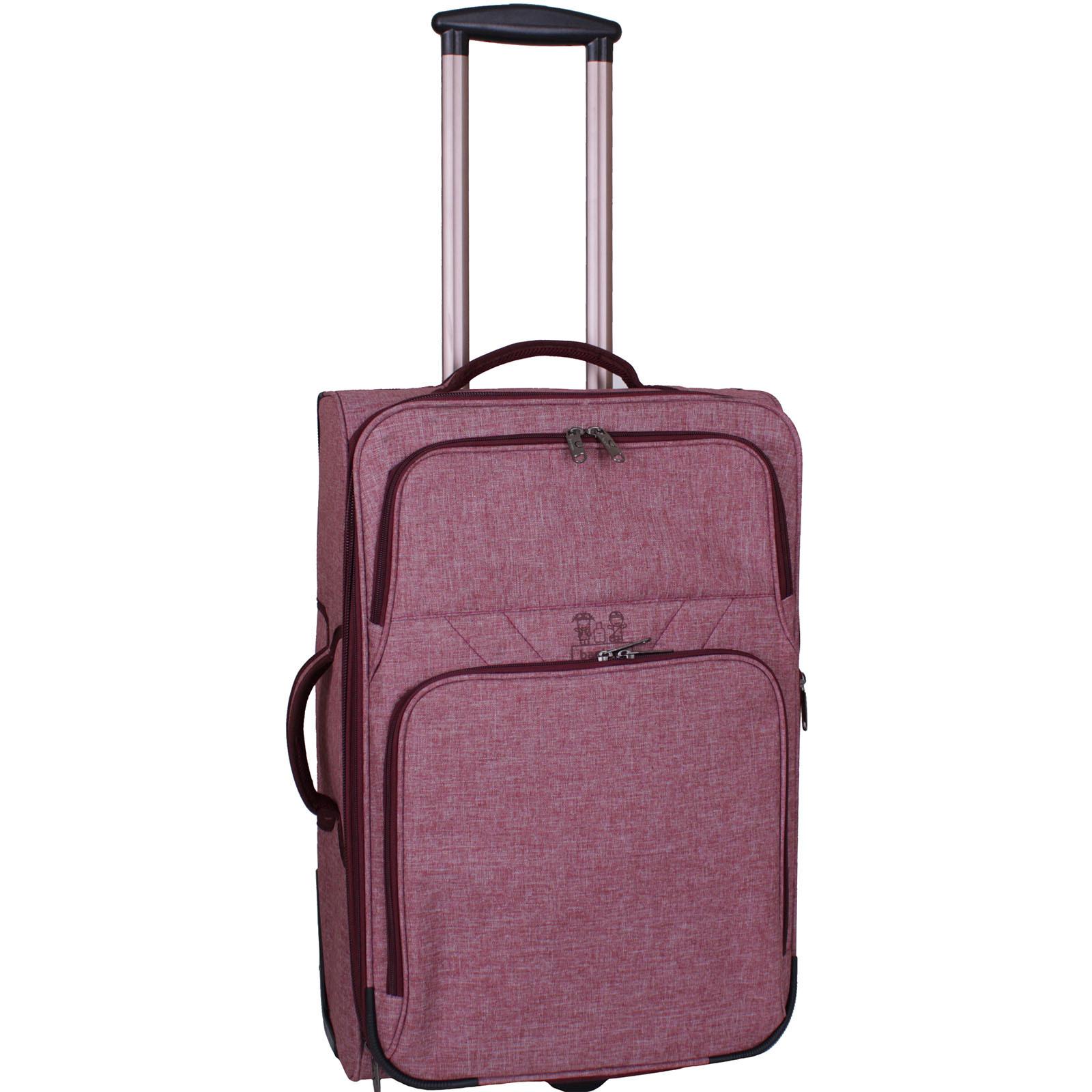 Дорожные чемоданы Чемодан Bagland Леон средний 51 л. Бордовый (003766924) IMG_3053.JPG