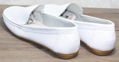 Модные женские мокасины AESD 902 White