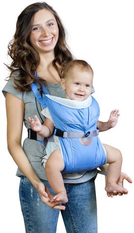 Чудо-Чадо. Рюкзак-кенгуру BabyActive Simple, голубой