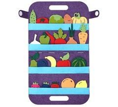 Дидактическая игра Овощи, фрукты и ягоды, Smile decor, арт. Ф272