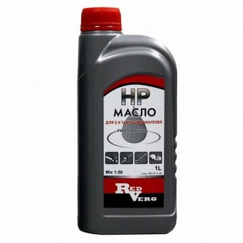 Масло 2-х тактное RedVerg полусинтетика 1л