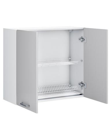 Шкаф-сушка кухонный  РИВЬЕРА  со стеклом 800
