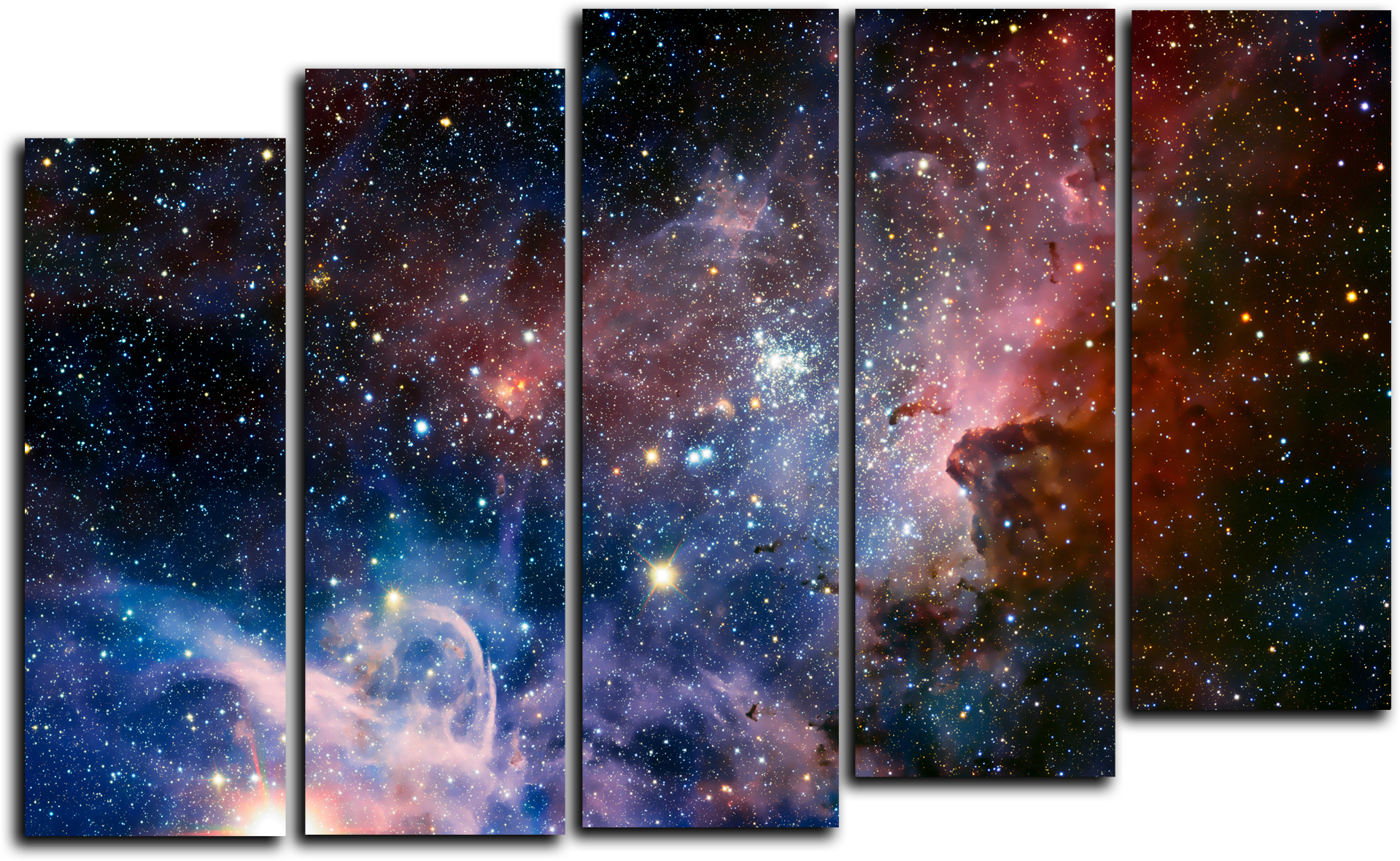 "Абстракция Модульная картина ""Туманность звезд"" М698.png"