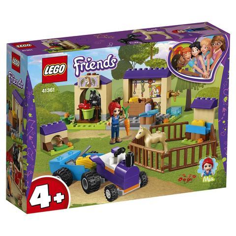 LEGO Friends: Конюшня для жеребят Мии 41361 — Mia's Foal Stable — Лего Френдз Друзья Подружки