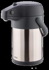 Термос с пневмонасосом Thermos TAH-3000, 3 л (цвет - сталь)