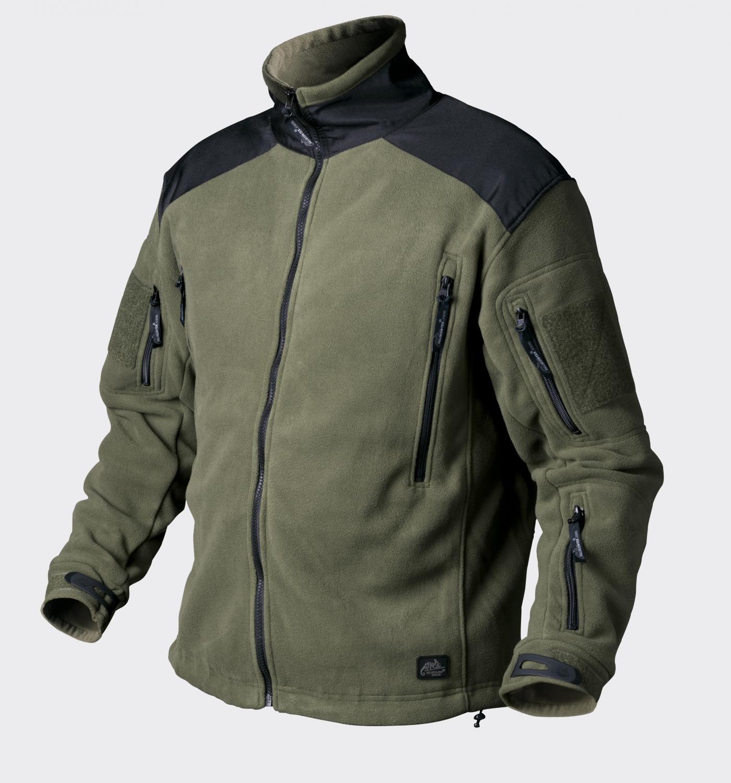 Куртка флис Helikon LIBERTY Jacket - Double Fleece - Olive Green/Black