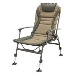 Рыболовное кресло карповое SPRO STRATEGY RECLINER SECRETIST WIDE+ARMREST (006522-00007)