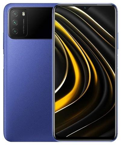 Смартфон Xiaomi Poco M3 4/64GB Blue (Синий)