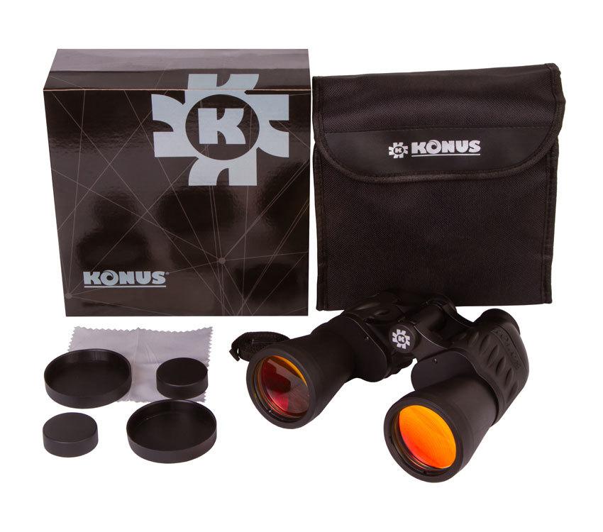 Бинокль Konus Sporty 7x50 - фото 2 - комплект поставки