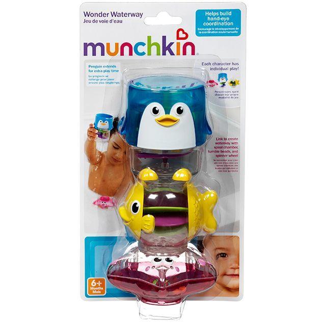 Munchkin игрушки для ванны Пирамидка 3 в 1 6+