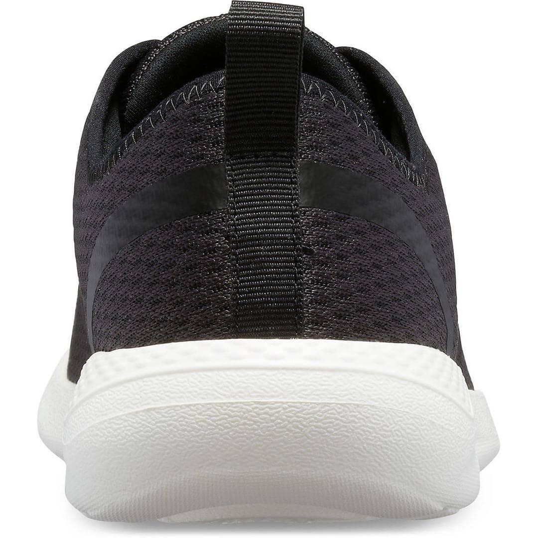 Мужские кроссовки CROCS Men's LiteRide Mesh Lace Black White