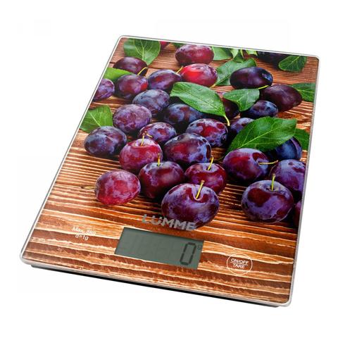 Весы кухонные сенсор LUMME LU-1340 сладкая черешня