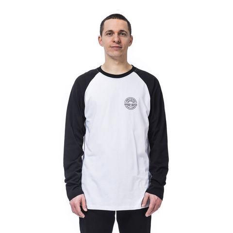 Лонгслив Horsefeathers Vale LS T-Shirt White