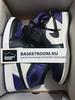 Air Jordan 1 Retro 'Court Purple' (Фото в живую)