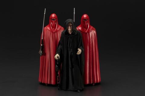 Звездные войны фигурки Император Палпатин и Королевская гвардия
