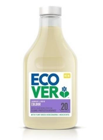ECOVER Жидкое средство для стирки цветного белья суперконцентрат, 1л