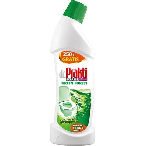 Dr.Prakti Green Forest –антибактериальная жидкость для туалетов 2 в 1 ( 750 мл)