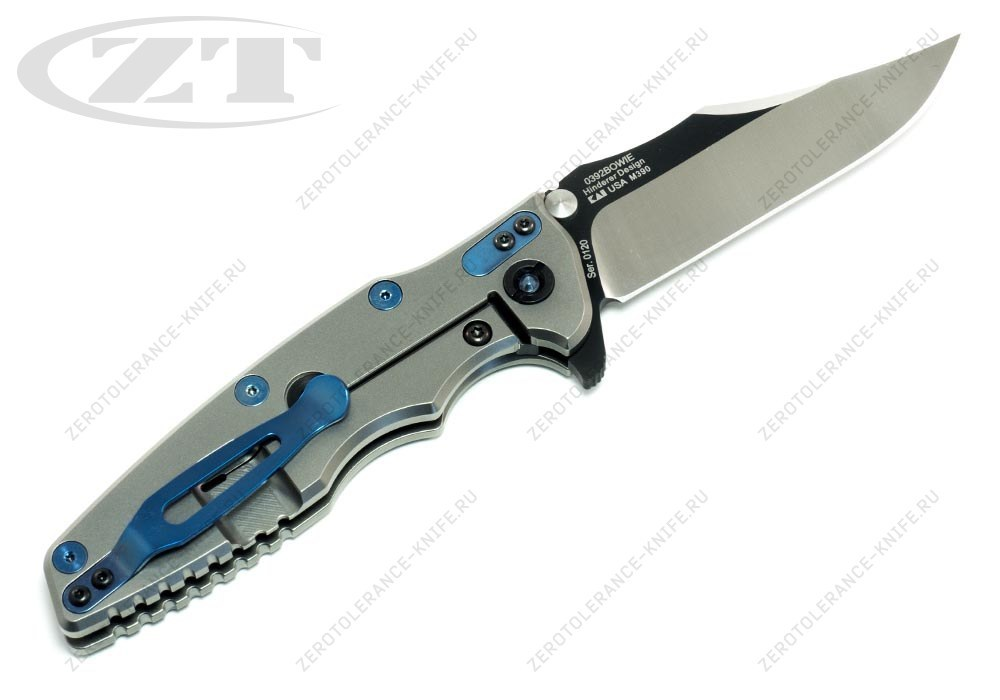 Нож Zero Tolerance 0392BOWIE Hinderer - фотография