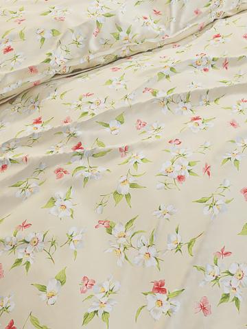 Простынь на резинке  -Жасмин- натяжная 90х200х26 см 1,5-спальная