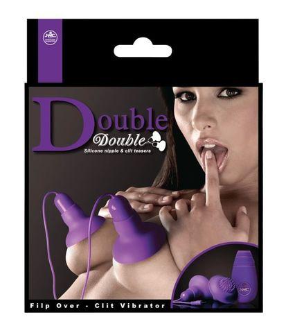 Вакуумные вибростимуляторы для сосков и клитора с выносным пультом Nipple and Clitoris by NMC