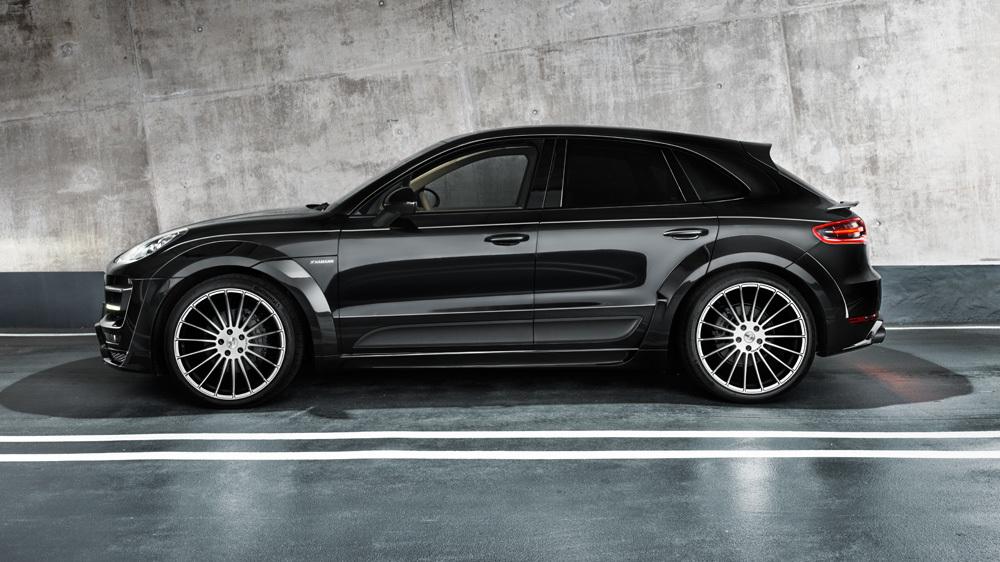 Обвес Hamann для Porsche Macan Widebody