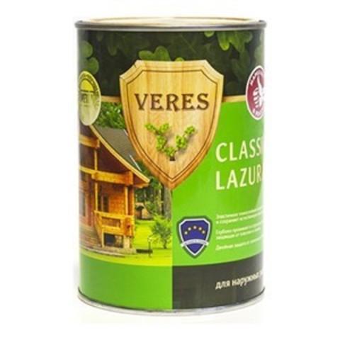 VERES CLASSIC LAZURA/ВЕРЕС КЛАССИК ЛАЗУРЬ полуматовая декоративно-защитная пропитка для древесины