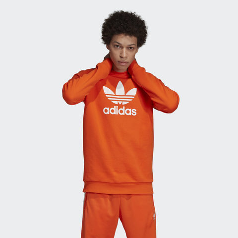 Свитшот мужской adidas ORIGINALS TREFOIL WARM-UP