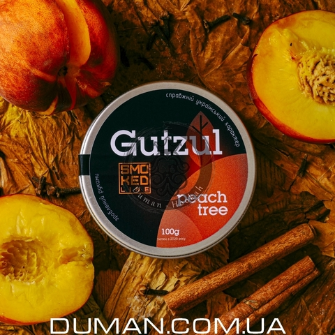 Табак Gutzul Peach Tree (Гуцул Персик Бергамот Специи) |100г