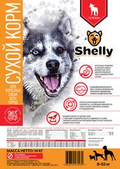 Сухой корм для взрослых собак всех пород, Shelly, с ягненком