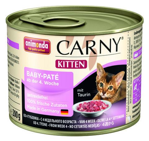 Консервы Animonda Carny Kitten Baby-Pate паштет для котят
