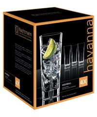 Набор из 4 хрустальных стаканов HAVANNA, 366 мл, фото 2