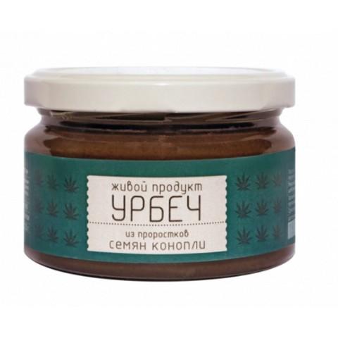 Урбеч из проростков семян конопли, 225 гр. (Живой продукт)