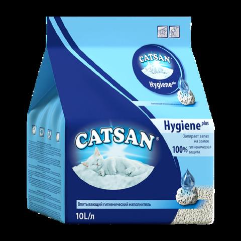 Catsan Гигиена Наполнитель для туалета кошек впитывающий