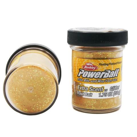 Форелевая паста Berkley - STBGY (1004941) Extra Scent Glitter цвет жёлтый