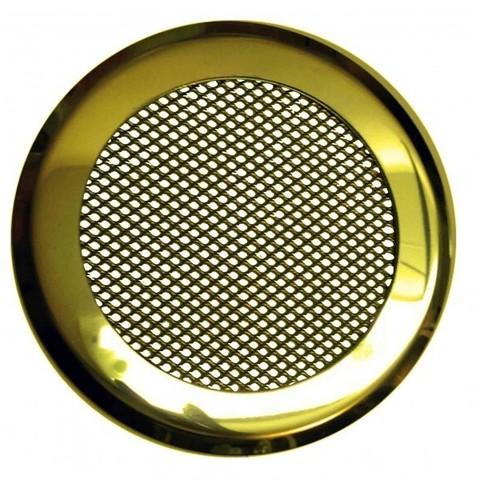 Решетка стальная на магнитах КП-100 сетка, золотая нержавейка