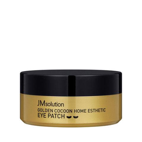 JMsolution Гидрогелевые премиум-патчи с коконом золотого шелкопряда JMsolution Golden Cocoon Home Esthetic Eye Patch, 60 шт.