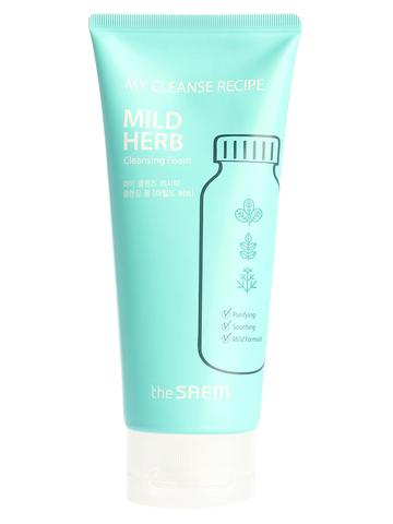 СМ My Cleanse Recipe Пенка для умывания My Cleanse Recipe Cleansing Foam-Mild Herb 150мл