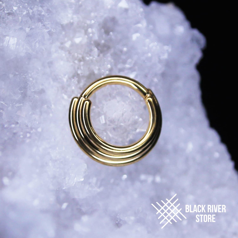 Кликер Three Rings PVD Gold