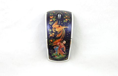 Мышь компьютерная с ручной росписью 3816