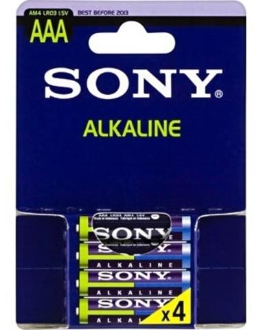 Батарейки Sony Alkaline LR03, AAA (4/48) BL