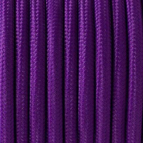 Круглый ретро провод (Фиолетовый)