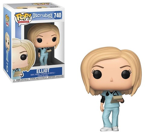 Elliot Scrubs Funko Pop! Vinyl Figure || Эллиот Клиника