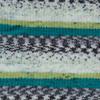Пряжа YarnArt Crazy Color 166 (Салат,изумруд,белый,графит)